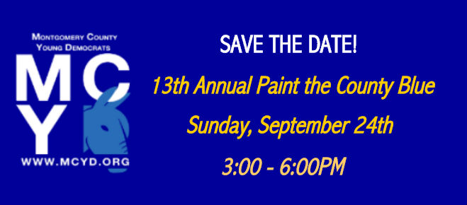 MCYD Paint the County Blue 92417
