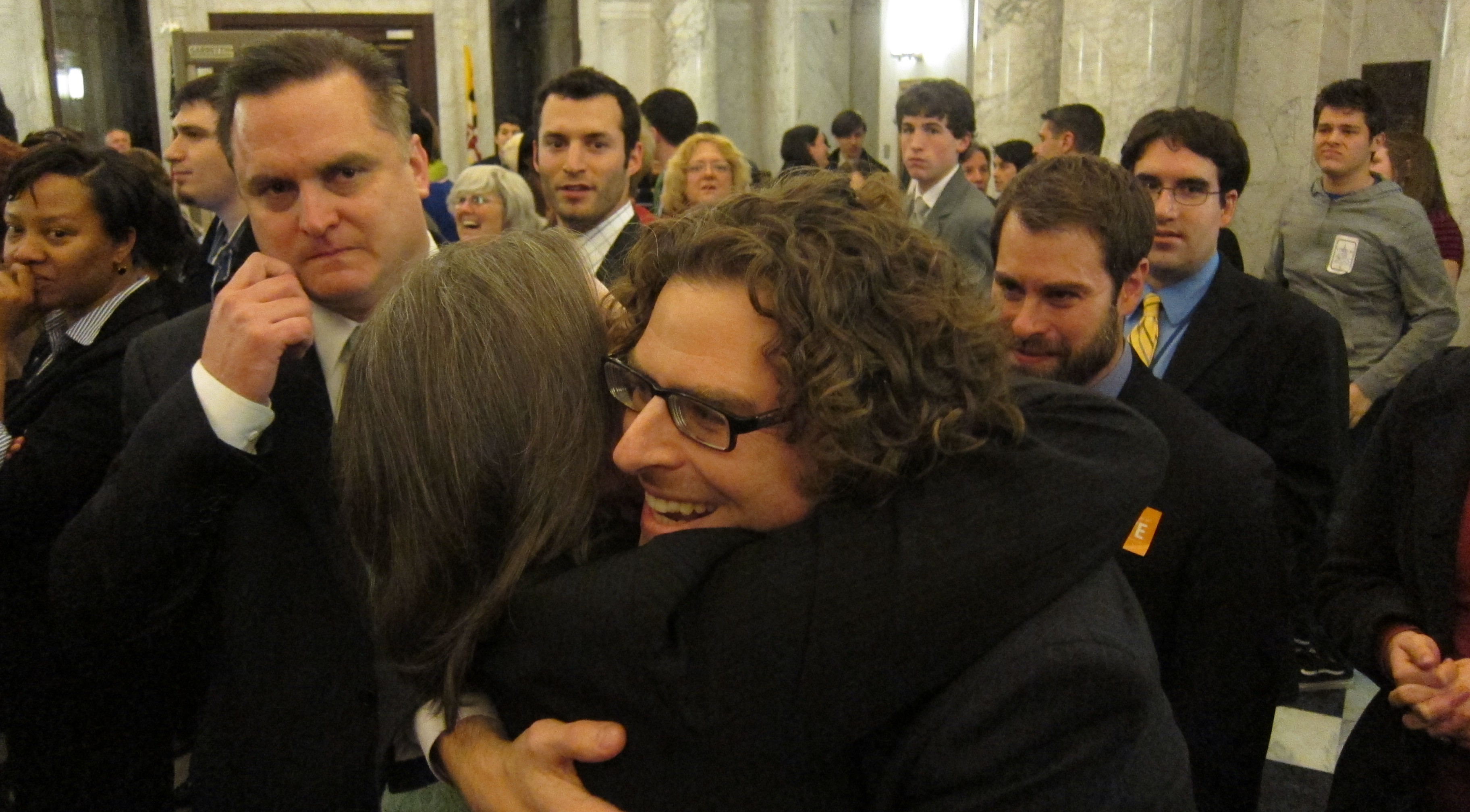 D14's Delegate Anne Kaiser celebrates Civil Marriage passage