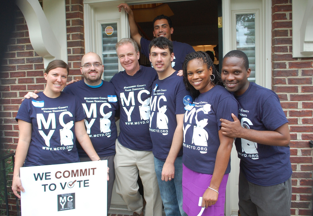 MCYD with Rep. Chris Van Hollen